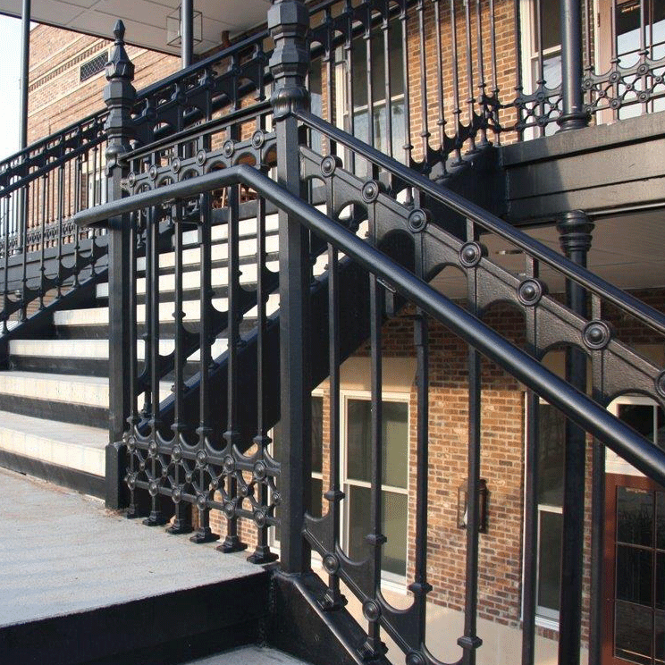 Cast Iron Stair and Balcony Railings